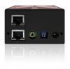 ADDERLink X-USB PRO MS remoto (parte trasera)